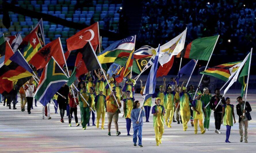 Los 206 Comités Olímpicos Nacionales